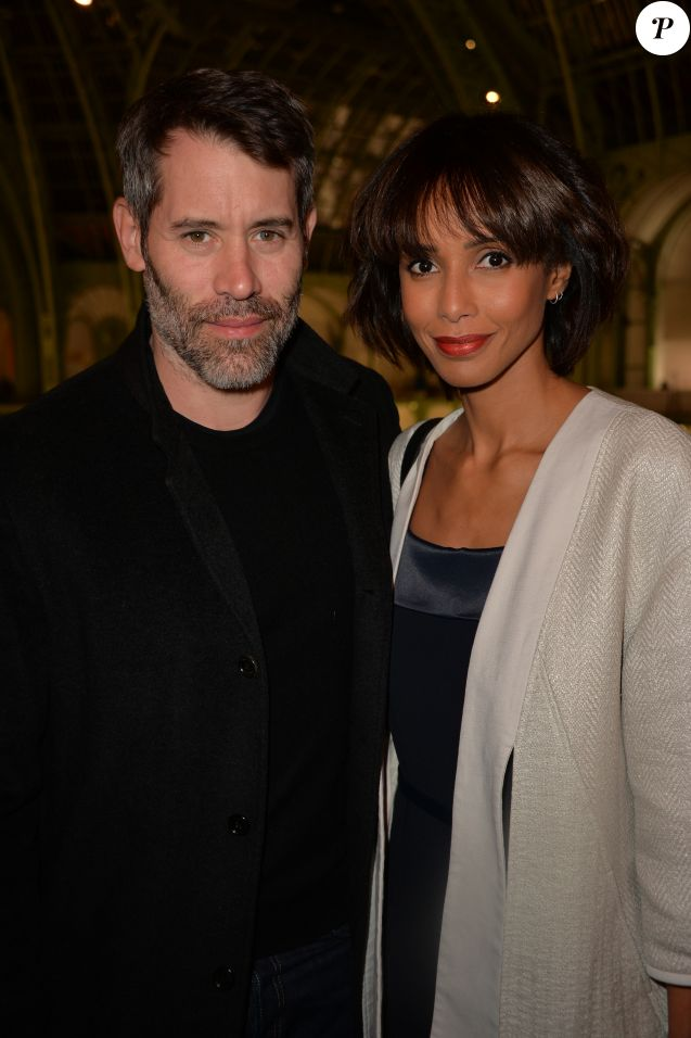 Sonia Rolland et son compagnon Jalil Lespert - Soirée d'inauguration de la FIAC 2016 (Foire Internationale d'Art Contemporain) organisé par Orange au Grand Palais à Paris, France, le 19 octobre 2016. © Veeren/Bestimage19/10/2016 - Paris