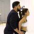 """Artus lors des répétitions du 2e prime de """"Danse avec les stars 7"""" sur TF1."""
