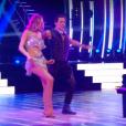 """Camille Lou dans """"Danse avec les stars 7"""" le 22 octobre 2016 sur TF1."""