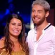 """Karine Ferri dans """"Danse avec les stars 7"""" sur TF1 le 22 octobre 2016."""