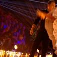 """Julien Lepers dans """"Danse avec les stars 7"""" sur TF1, le 22 octobre 2016."""
