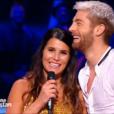 """Karine Ferri dans """"Danse avec les stars 7"""" sur TF1, le 22 octobre 2016."""