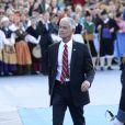 Le photographe de guerre James Nachtwey - Remise des prix Princesse des Asturies en présence du roi Felipe VI, La reine Letizia et de Sofia au théâtre Campoamor à Oviedo, Espagne, le 21 octobre 2016.