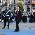 James Nachtwey - Remise des prix Princesse des Asturies en présence du roi Felipe VI, La reine Letizia et de Sofia au théâtre Campoamor à Oviedo, Espagne, le 21 octobre 2016.