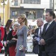 Esther Alcocer Koplowitz - Remise des prix Princesse des Asturies en présence du roi Felipe VI, La reine Letizia et de Sofia au théâtre Campoamor à Oviedo, Espagne, le 21 octobre 2016.