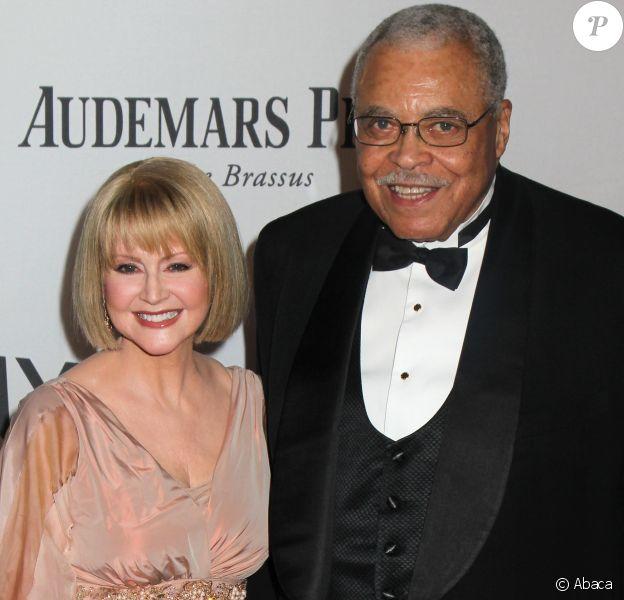 Cecilia Hart et James Earl Jones aux Tony Awards en 2012.
