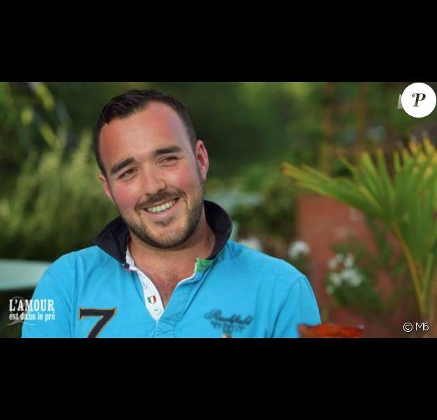 """Benoît - """"L'amour est dans le pré 2016"""", première partie du bilan sur M6. Le 24 octobre 2016."""