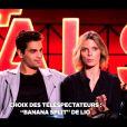 """Sylvie Tellier et Christophe Licata - """"Danse avec les stars 7"""" sur TF1. Le 29 octobre 2016."""
