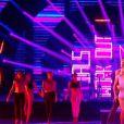 """Caroline Receveur et Maxime Dereymez - """"Danse avec les stars 7"""" sur TF1. Le 29 octobre 2016."""