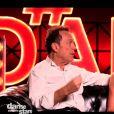 """Julien Lepers et Silvia Notargiacomo - """"Danse avec les stars 7"""" sur TF1. Le 29 octobre 2016."""