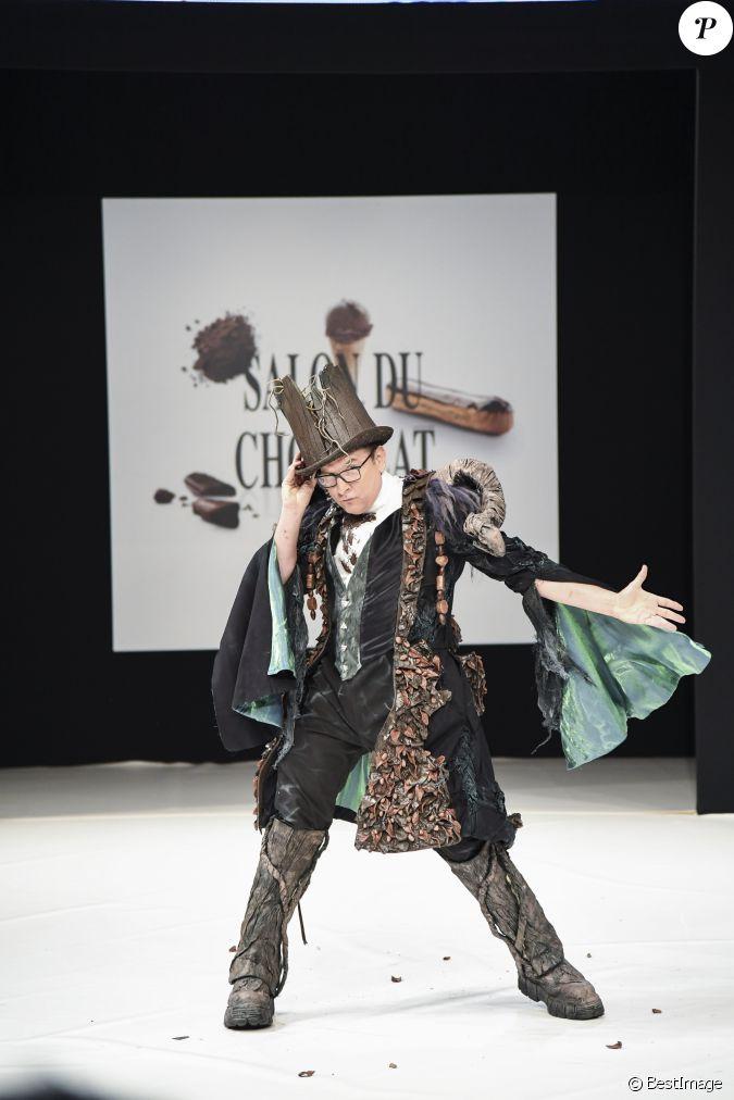 Jean marc g n reux au d fil du 22 me salon du chocolat for Les salons porte de versailles 2016