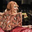 Julie Pietriau Défilé du 22ème salon du chocolat à la porte de Versailles à Paris le 27 octobre 2016. (coiffures Franck Provost / maquillages Make Up For Ever) © Veeren-Perusseau/Bestimage