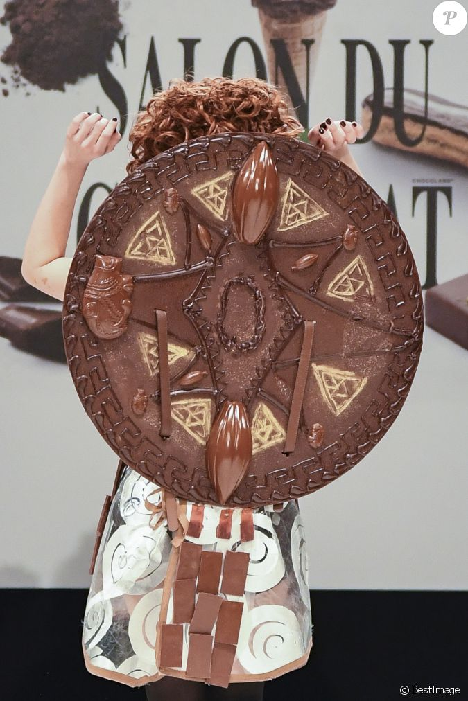Ana s delva au d fil du 22 me salon du chocolat la for Salon du x porte de versailles