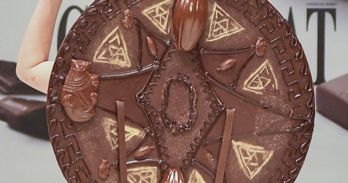 Ana s delva au d fil du 22 me salon du chocolat la for Les salons porte de versailles 2016