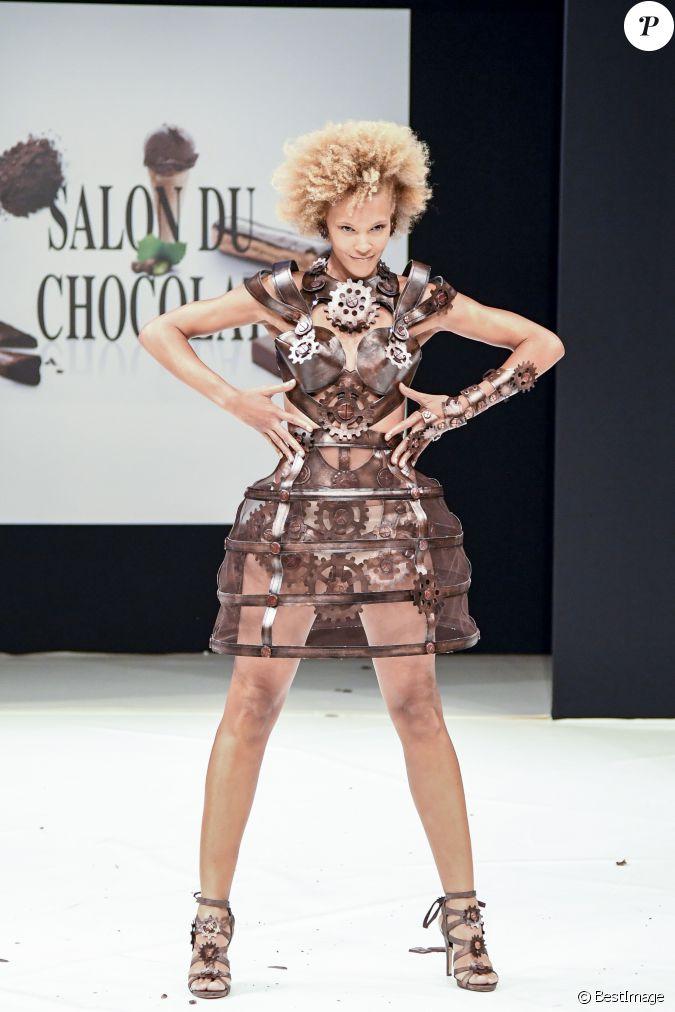 Amanda scott au d fil du 22 me salon du chocolat la for Salon du x porte de versailles