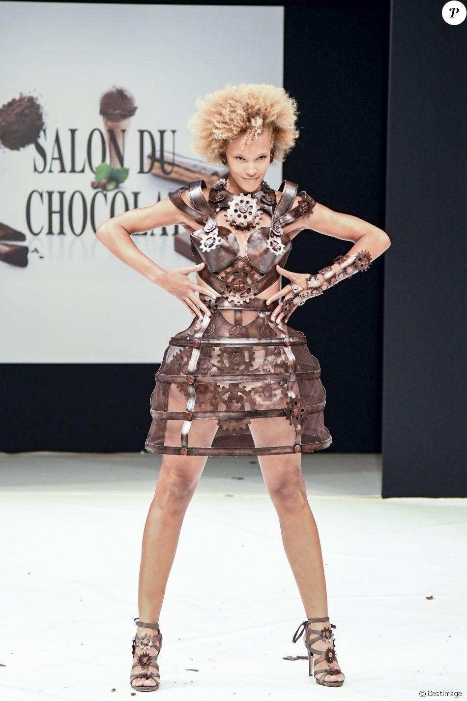 Amanda scott au d fil du 22 me salon du chocolat la for Porte de versailles salon 2016