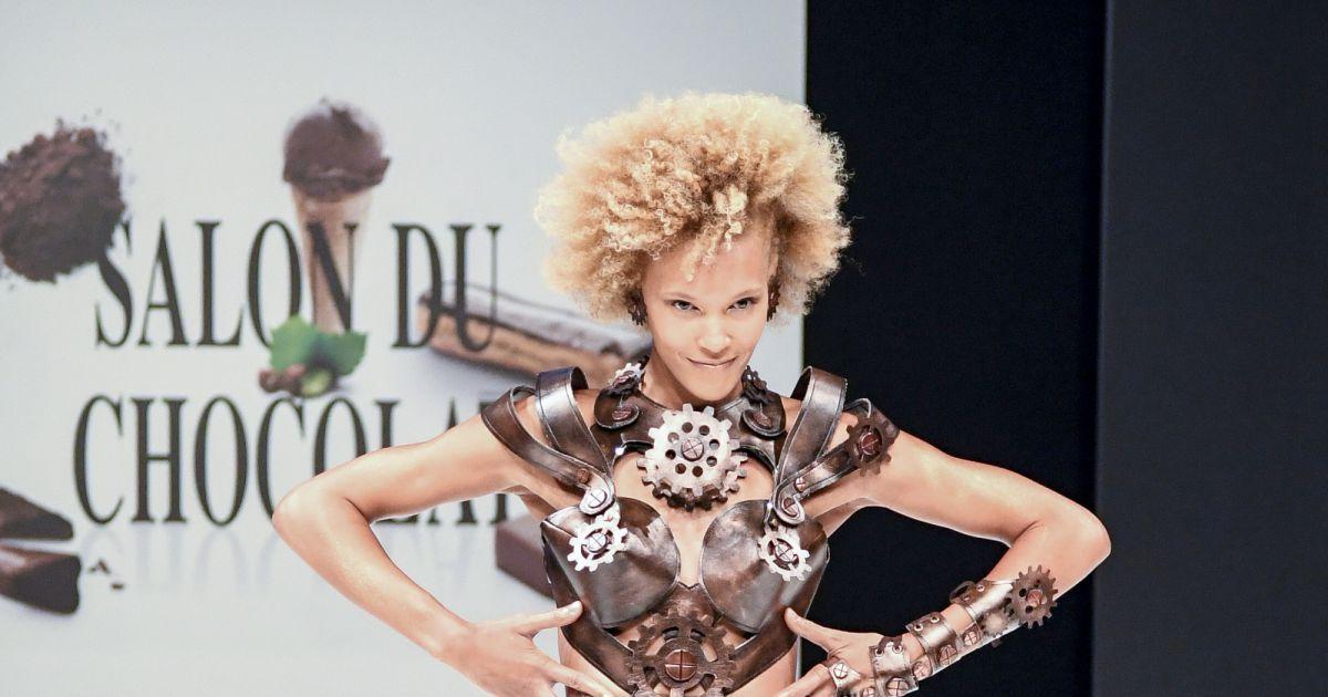Amanda scott au d fil du 22 me salon du chocolat la for Porte de versailles salon du mariage