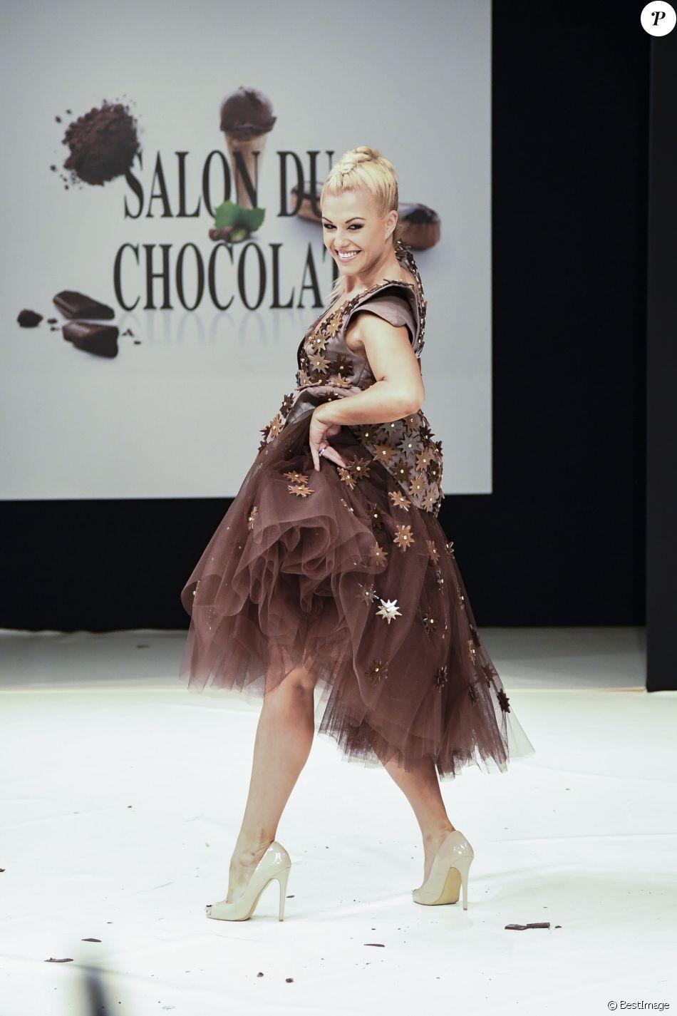 Katrina patchett au d fil du 22 me salon du chocolat la for Salon du x porte de versailles