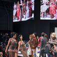 Délilé de tous les mannequins au 22ème salon du chocolat à la porte de Versailles à Paris le 27 octobre 2016. (coiffures Franck Provost / maquillages Make Up For Ever) © Veeren-Perusseau/Bestimage