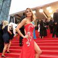 """Valérie Bègue lors de la montée des marches du film """"Macbeth"""" au cours du 68 ème Festival International du Film de Cannes, à Cannes le 23 mai 2015."""