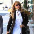 Exclusif - Rosanna Arquette se rend chez le coiffeur à Beverly Hills, le 11 octobre 2016