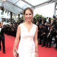 """Maud Fontenoy lors de la Montée des marches du film """"La Glace et le Ciel"""" pour la cérémonie de clôture du 68 ème Festival du film de Cannes, à Cannes le 24 mai 2015."""