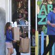 Exclusif - Ben Affeck emmène ses enfants Seraphina et Samuel à une fête d'anniversaire privée à Los Angeles, le 5 novembre 2016