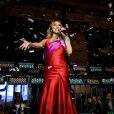 Mariah Carey chante à la soirée annuelle de Noël 'The Bay' à Toronto, le 3 novembre 2016 © Angel Marchini via Zuma/Bestimage