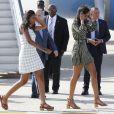 Sasha et Malia Obama à Madrid, le 29 juin 2016.