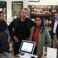 Barack Obama et ses filles Malia et Sasha à Washington, le 28 novembre 2015.