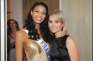 PHOTOS : Laeticia Hallyday aussi divine que Miss France au Grand Journal !