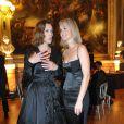 Laeticia Hallyday et Carole Bouquet