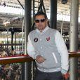 Kool Shen de son vrai nom Bruno Lopes - Winamax Poker Tour, le plus grand tournoi de poker gratuit d'Europe à la Grande Halle de la Villette à Paris le 5 novembre 2016. La sixième édition du plus grand championnat de poker de France débute à Paris le week-end du 5/6 novembre : 2 000 joueurs seront réunis sous le toit de la Grande Halle de la Villette pour le coup d'envoi du Winamax Poker Tour, édition 2016/2017 ! © Pierre Perusseau/Bestimage05/11/2016 - Paris