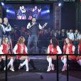 Patrick Bruel lance l'ouverture du tournoi - Winamax Poker Tour, le plus grand tournoi de poker gratuit d'Europe à la Grande Halle de la Villette à Paris le 5 novembre 2016. La sixième édition du plus grand championnat de poker de France débute à Paris le week-end du 5/6 novembre : 2 000 joueurs seront réunis sous le toit de la Grande Halle de la Villette pour le coup d'envoi du Winamax Poker Tour, édition 2016/2017 ! © Pierre Perusseau/Bestimage05/11/2016 - Paris