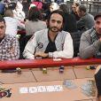 Davidi Kitai - Winamax Poker Tour, le plus grand tournoi de poker gratuit d'Europe à la Grande Halle de la Villette à Paris le 5 novembre 2016. La sixième édition du plus grand championnat de poker de France débute à Paris le week-end du 5/6 novembre : 2 000 joueurs seront réunis sous le toit de la Grande Halle de la Villette pour le coup d'envoi du Winamax Poker Tour, édition 2016/2017 ! © Pierre Perusseau/Bestimage05/11/2016 - Paris