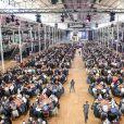 Illustration - Winamax Poker Tour, le plus grand tournoi de poker gratuit d'Europe à la Grande Halle de la Villette à Paris le 5 novembre 2016. La sixième édition du plus grand championnat de poker de France débute à Paris le week-end du 5/6 novembre : 2 000 joueurs seront réunis sous le toit de la Grande Halle de la Villette pour le coup d'envoi du Winamax Poker Tour, édition 2016/2017 ! © Pierre Perusseau/Bestimage05/11/2016 - Paris
