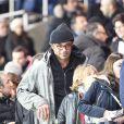 Yannick Noah assiste à la clôture de la 12ème journée de Ligue 1 qui opposait le Paris Saint Germain au Stade Rennais (victoire 4-0 du PSG), à Paris au Parc des Princes le 6 novembre 2016.