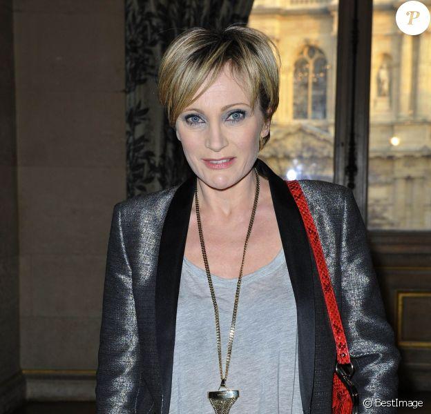 Patricia Kaas au 18eme palmares des Lauriers de la Radio et de la Television a Hotel de Ville de Paris le 4 mars 2013.