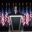 Donald Trump lors du dernier jour de la Convention des Républicains à Cleveland. Le 21 juillet 2016
