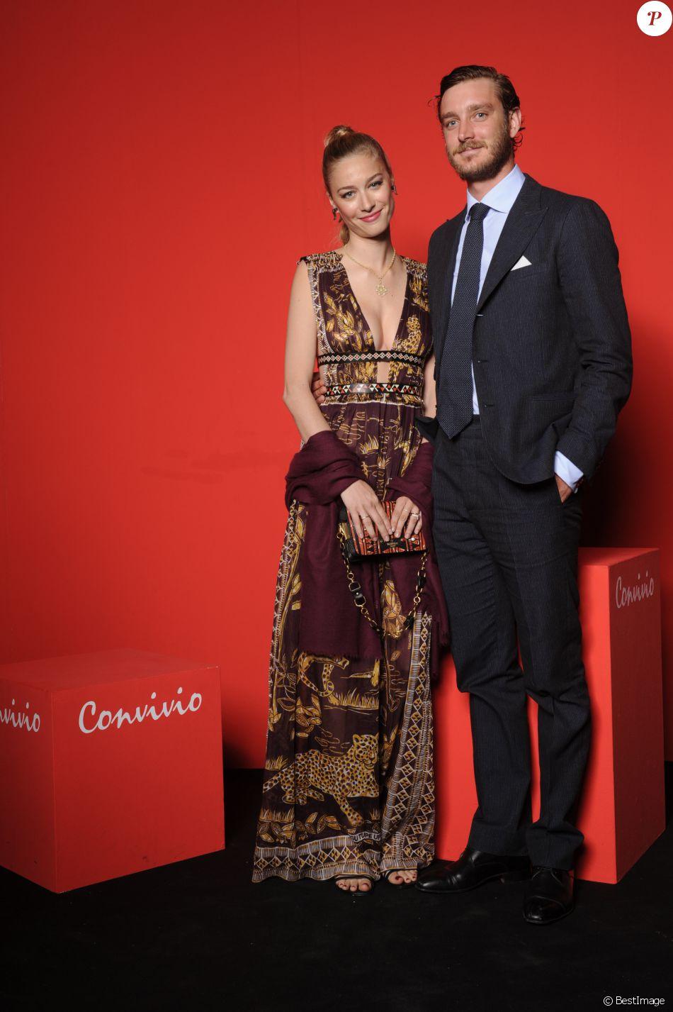 Beatrice Borromeo et Pierre Casiraghi à la soirée Convivio à Milan le 7 juin 2016