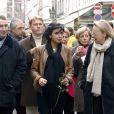Rachida Dati dans son arrondissement