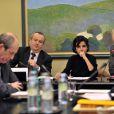 Rachida Dati à la commission des lois