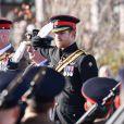 Le prince Harry préside la commémoration de l'Armistice au National memorial Arboretum à Stafford, Royaume Uni, le 11 novembre 2016.