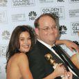 Marc Cherry et Teri Hatcher lors des 63emes Golden Globes