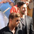 Ricky Martin et son compagnon Jwan Yosef au défilé de mode Balmain Hommes printemps-été 2017 à l'hôtel Potoki à Paris, le 25 juin 2016. © CVS/Veeren / Bestimage