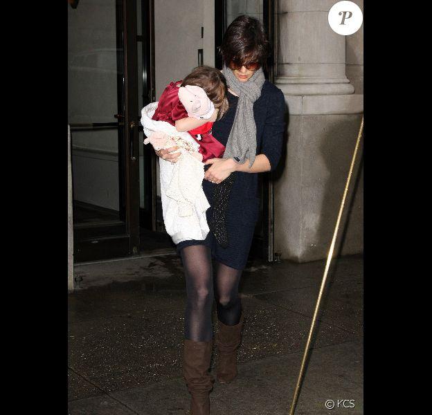 Katie Holmes et sa fille Katie Holmes