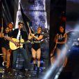 """Exclusif - Le jeune chanteur Lilian Renaud lors de l'émission de télévision pour TF1 """"La Chanson de l'Année 2016"""" à Nîmes le 17 juin 2016. © Bruno Bebert / Bestimage"""