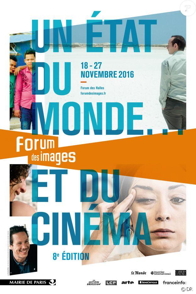 """Affiche du cycle """"Un état du monde... et du cinéma"""" au Forum des images - novembre 2016"""