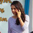 """""""Mila Kunis enceinte se promène à Studio City le 15 novembre 2016."""""""