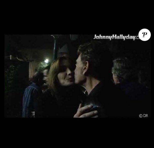 Johnny Hallyday et Carla Bruni
